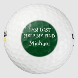おもしろいな人の失ったゴルフ・ボール ゴルフボール