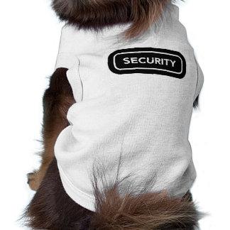 おもしろいな保証飼い犬のワイシャツ ペット服
