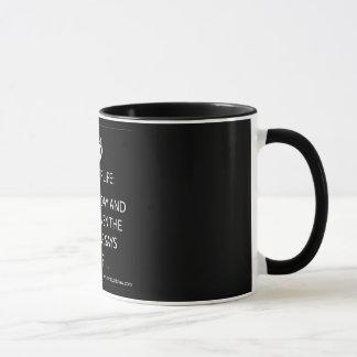 おもしろいな信号器のマグ マグカップ