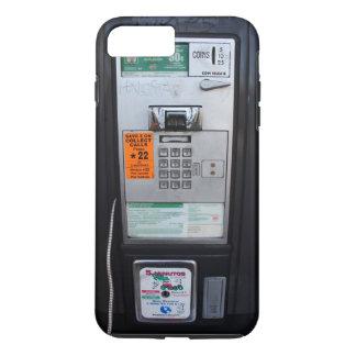 おもしろいな公共公衆電話ブース iPhone 8 PLUS/7 PLUSケース