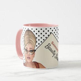 おもしろいな六十年代の美容院 マグカップ