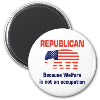 おもしろいな共和党員-福祉 マグネット