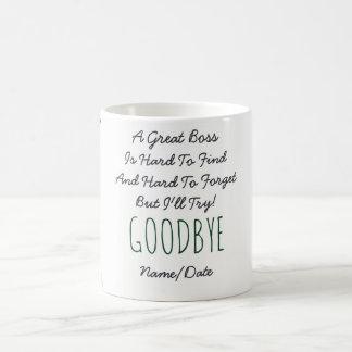 おもしろいな別れのボスのマグ-忘れるべき懸命 コーヒーマグカップ