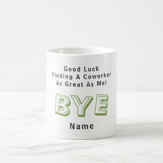 おもしろいな別れの同僚私として素晴らしい協力者無し コーヒーマグカップ