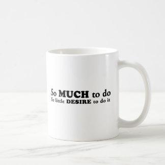 おもしろいな刺激|不精な|の欠乏 コーヒーマグカップ