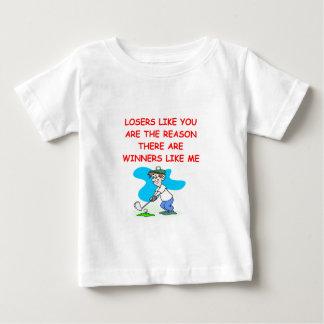 おもしろいな勝者および敗者の冗談 ベビーTシャツ