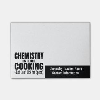 おもしろいな化学先生の引用文 ポストイット