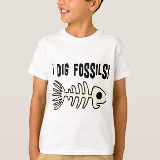 おもしろいな化石のTシャツ Tシャツ