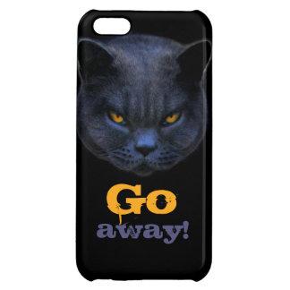 おもしろいな十字猫は行きます遠くにに言います iPhone5Cケース