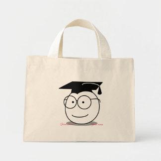おもしろいな卒業のギフトバッグの付属品をカスタマイズ ミニトートバッグ