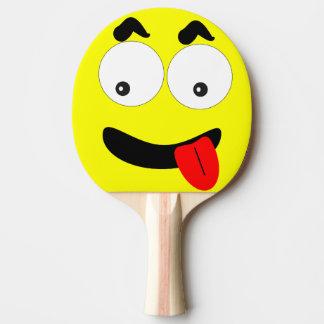 おもしろいな卓球ラケットの顔 卓球ラケット