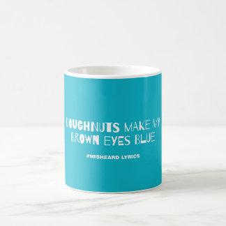 おもしろいな印刷のmisheard歌の叙情詩 コーヒーマグカップ