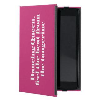 おもしろいな印刷のmisheard歌の叙情詩 iPad mini ケース