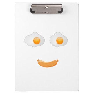 おもしろいな卵焼きの食糧顔 クリップボード