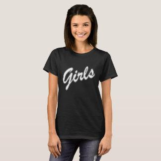 おもしろいな友人からの女の子の引用文のTシャツ Tシャツ