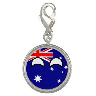おもしろいな向くオタク系のなオーストラリアCountryball チャーム