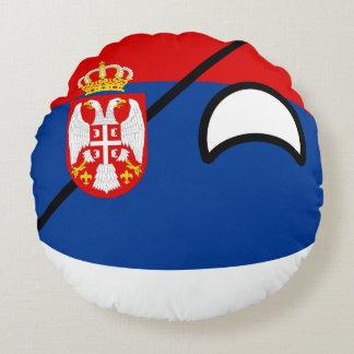 おもしろいな向くオタク系のなセルビアCountryball ラウンドクッション