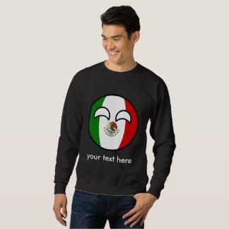 おもしろいな向くオタク系のなメキシコCountryball スウェットシャツ