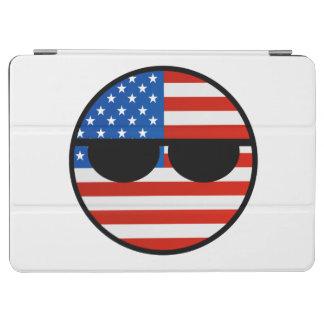 おもしろいな向くオタク系の米国Countryball iPad Air カバー