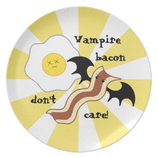 おもしろいな吸血鬼の朝食 プレート