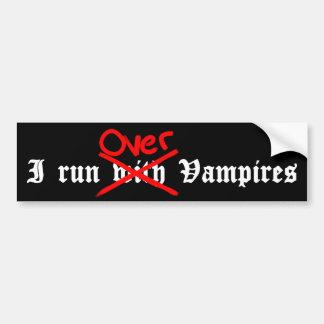 おもしろいな吸血鬼の気持ち バンパーステッカー