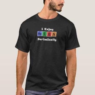 おもしろいな周期表のベーコン科学化学 Tシャツ