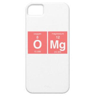"""おもしろいな周期表""""OMG """" iPhone SE/5/5s ケース"""
