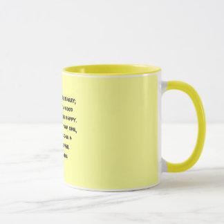 おもしろいな哲学のマグ マグカップ