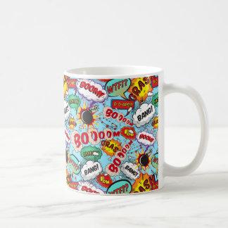 おもしろいな喜劇的なパターン コーヒーマグカップ