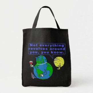 おもしろいな地球の俗物 トートバッグ