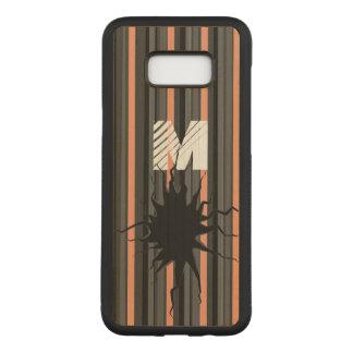 おもしろいな壊された芸術のモノグラムSamsungS8+ 電話キャビネット Carved Samsung Galaxy S8+ ケース