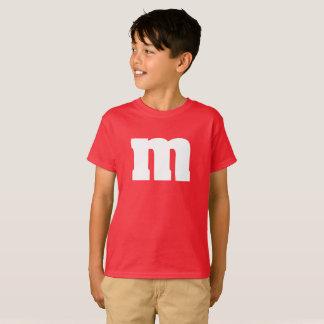 おもしろいな子供MおよびMキャンデーのワイシャツ Tシャツ