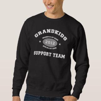 おもしろいな孫の支援チーム2012年 スウェットシャツ