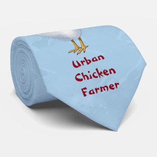 おもしろいな家禽の言語都市鶏の農家 ネクタイ
