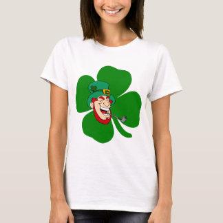 おもしろいな小妖精のアイルランド語St patricks Tシャツ