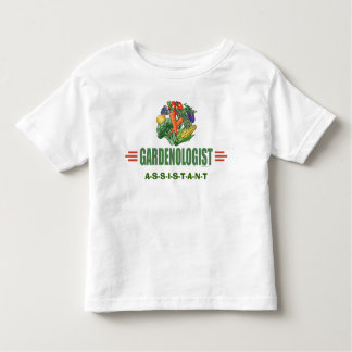 おもしろいな庭師 トドラーTシャツ