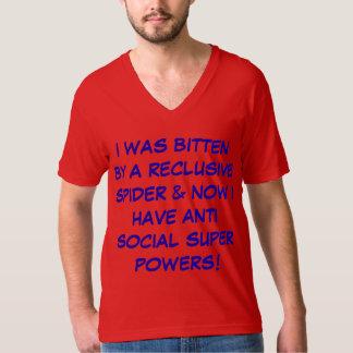 おもしろいな引用文のユーモアのあるなスパイダーマンのスタイルのTシャツ Tシャツ