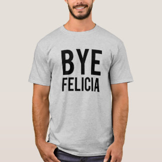 おもしろいな従属的なフェリシアの人のワイシャツ Tシャツ