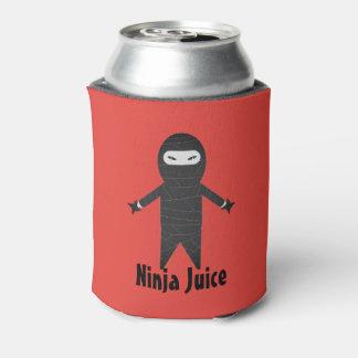おもしろいな忍者ジュースビール飲み物のクーラー 缶クーラー