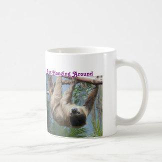 おもしろいな怠惰のマグ コーヒーマグカップ