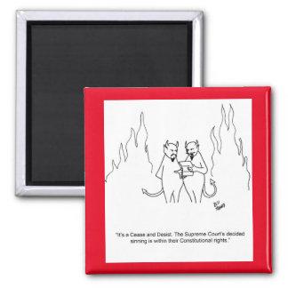 おもしろいな悪魔の地獄の磁石 マグネット