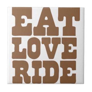 おもしろいな愛乗車の乗馬を食べて下さい タイル