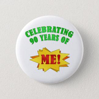 おもしろいな態度の第90誕生日プレゼント 5.7CM 丸型バッジ