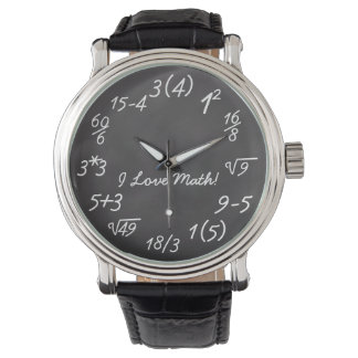 おもしろいな数学のギーク 腕時計