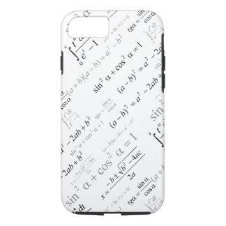 おもしろいな数学の方式の数学のギーク iPhone 8/7ケース