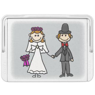 おもしろいな新郎新婦の結婚式の漫画 IGLOOクーラーボックス