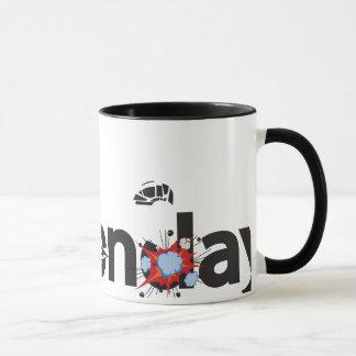 おもしろいな月曜日 マグカップ