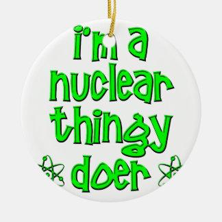 おもしろいな核 セラミックオーナメント