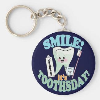 おもしろいな歯科医の歯科衛生士 キーホルダー