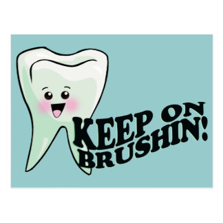 おもしろいな歯科医の歯科衛生士 ポストカード